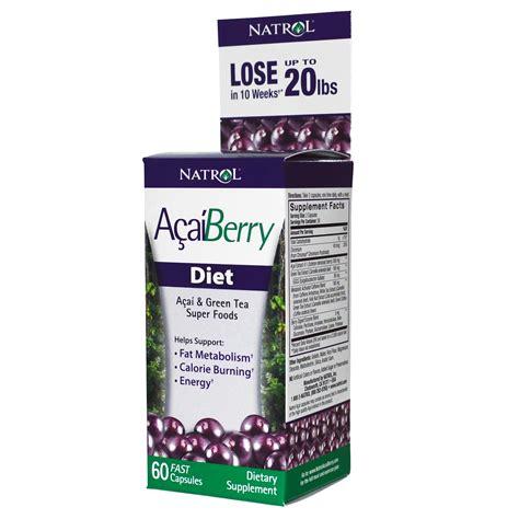 Natrol Acaiberry Diet Acai And Green Tea Foods Murah natrol acaiberry diet acai green tea foods 60 fast capsules iherb