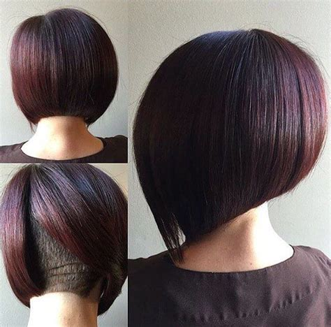 pic of back of shaved aline ahaircuts 1000 ideas about short aline bob on pinterest bobs