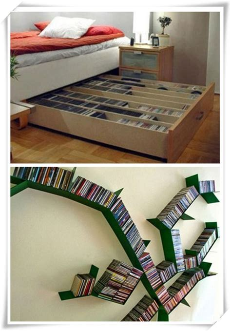 Ipad Holder For Bed dvd storage ideas to store thousands of dvds in small place