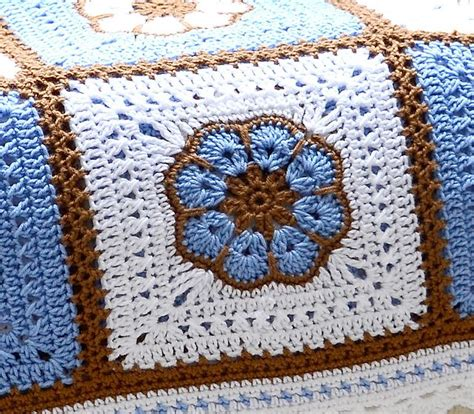 crochet pattern african flower ravelry labullard s african flower afghan with notes