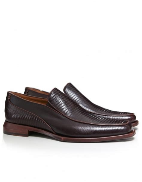 oliver sweeney loafers oliver sweeney stella mock lizard loafers in brown for