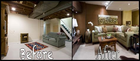 Basement Remodels Pictures Before And After