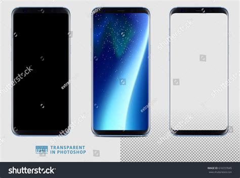 3d Mermaid Scales Samsung Galaxy S8 Or Galaxy S8 realistic vector set mockup new generation stock vector 616727045