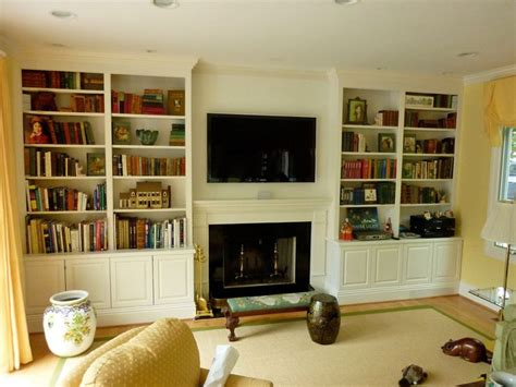 ikea bookcases around fireplace 20 best wall units with fireplace images on pinterest