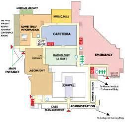 Hospital Floor Plan Hospital Layout 187 St Elizabeth Center