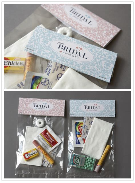 diy bridal party survival kit diy projects 100 layer cake