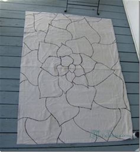 Diy Outdoor Rug With Fabric 1000 Ideas About Drop Cloth Rug On Pinterest Floor Mats Canvas Drop Cloths And Stenciling