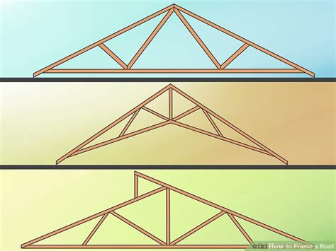 a frame roof pitch how to frame a roof with pictures wikihow
