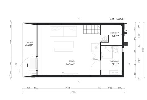 prototype a14s first floor plan koda the prefabricated mini house prototype by kodasema