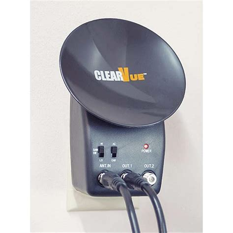 clear vue mini dish antenna 78413 dvd s at sportsman s guide