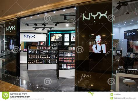 Lipstik Nyx Di Mall nyx store professional makeup in shopping mall moscow city editorial stock photo image 62597598