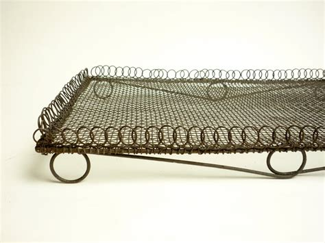 cool on wire rack antique french wire cooling rack primitive wirework vintage