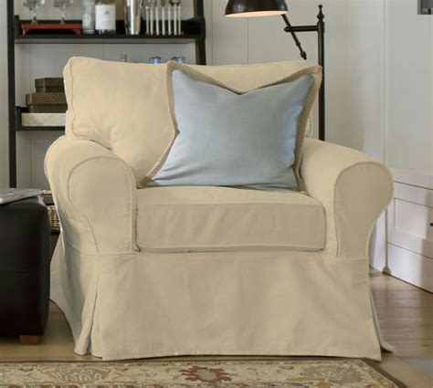 pb basic slipcovers new pottery barn pb basic armchair chair slipcover cover