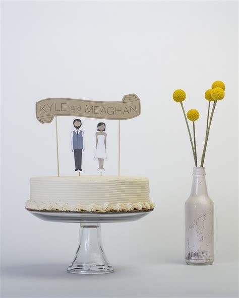 Wedding Banner Cake Topper by Banner Wedding Cake Topper By Readygo Wedding Decor