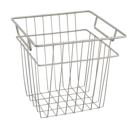 Closet Wire Basket by Closetmaid Small Wire Basket Ebay