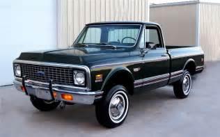 Chevrolet K10 1972 Chevrolet K10 4x4 93227