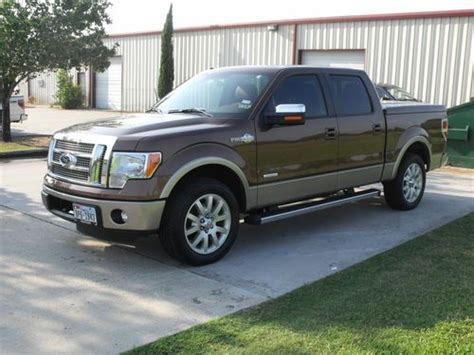 2012 ford f 150 king ranch sell used 2012 ford f 150 king ranch crew cab 4