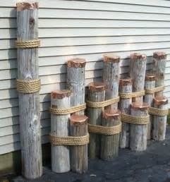 nautical decor nautical decor mooring dolphins or dock pilings for