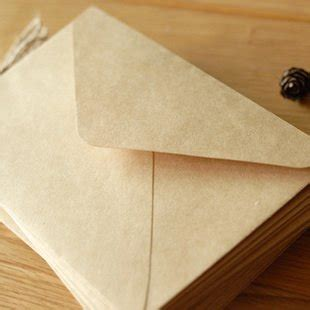 How To Make An Envelope Out Of Notebook Paper - kraft paper envelope small envelope notebook fashion
