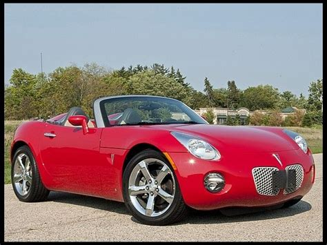 2006 Pontiac Solstice Convertible by 2006 Pontiac Solstice Convertible What I