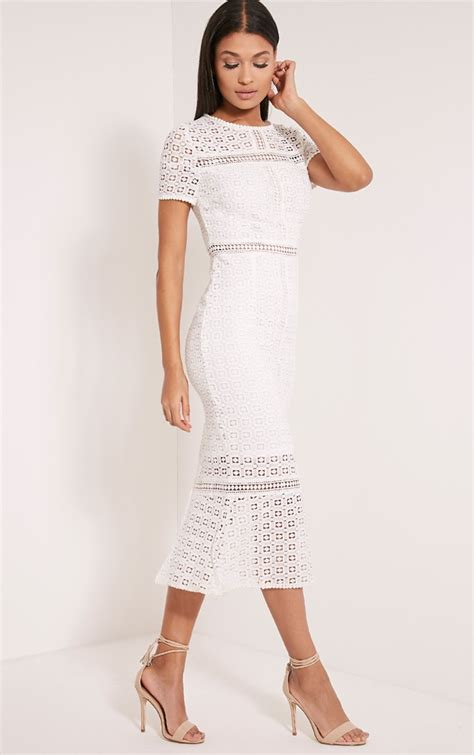 white crochet dress dress ty