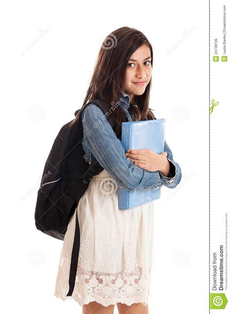 preteen school girl photos preteen school girl portrait royalty free stock image