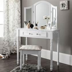 White Vanity Table Without Mirror White Dressing Table Mirror Stool Set Dresser