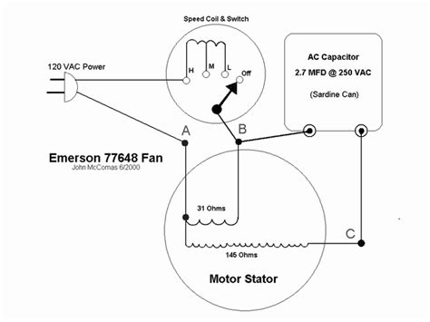 emerson fan wiring diagram emerson get free image about