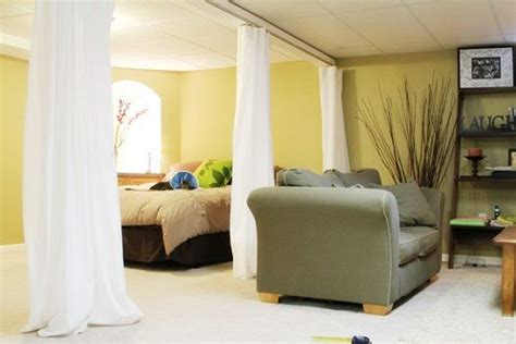 25 ways to use curtains as space dividers digsdigs sliding curtain room dividers i have to find a cheap way