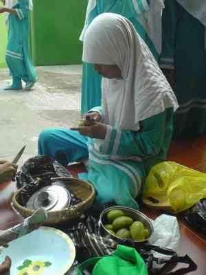 prosedur membuat manisan mangga inside the class membuat manisan buah smp luqman al