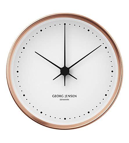 Wanduhr Design Modern 258 by Georg Henning Koppel Copper Clock 15cm