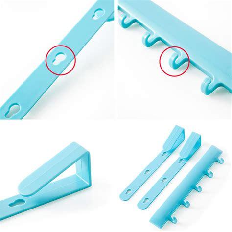 Rak Mini Gantungan Peralatan Dapur Rak Dapur Rak Perkakas Dapur 3 rak gantungan peralatan dapur model hook blue jakartanotebook