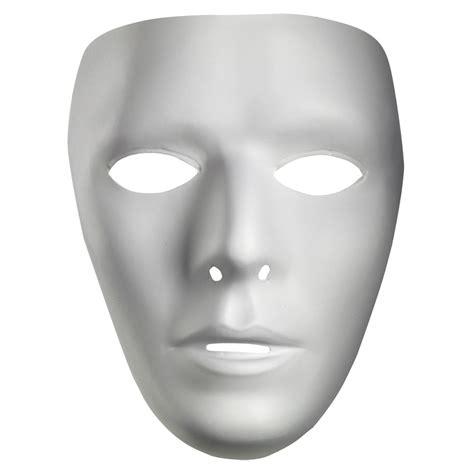 White Mud Mask Naturgo White Mask blank white costume mask disguise 10475 ebay