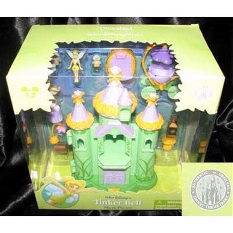 disney figurine set tinker bell house