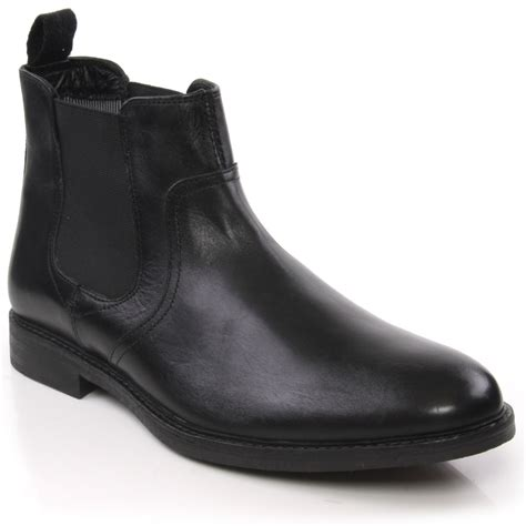 business casual boots unze heav mens leather formal office business casual