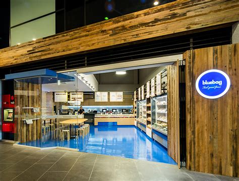 bluebag restaurant  zwei interiors architecture melbourne