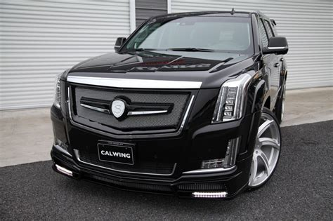 cadillac beast cadillac escalade by calwing is a real beast carz tuning