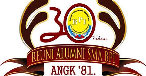 Kaos Distro Sunday Co 013 desain logo desain kaos event reuni alumni sma bpi angk