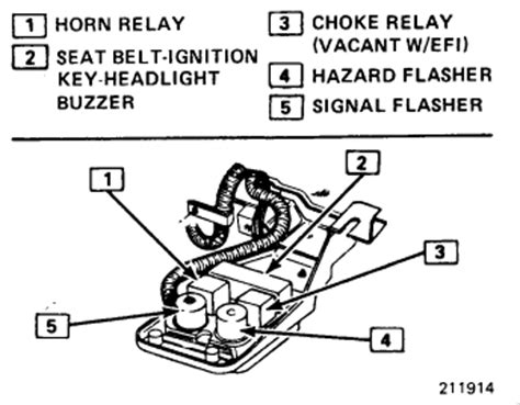 1984 Chevy Corvette Horns Not Working Electrical Problem