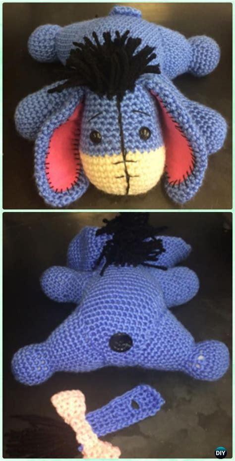 amigurumi pattern winnie the pooh crochet amigurumi winnie the pooh free patterns eeyore