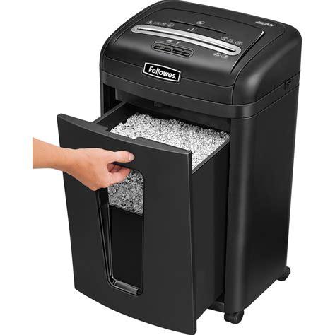 paper shredders fellowes powershred 450ms 2x12mm micro cut shredder 3245101
