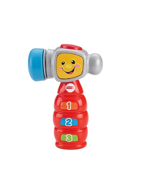 fisher price laugh and learn tap n learn hammer new