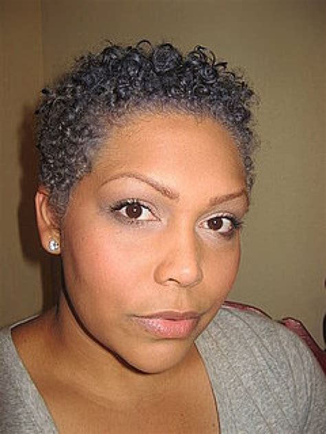 short afro gray styles natural gray hair styles gray natural hair styles not