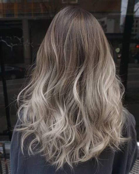 worlds best ash blonde ombre 40 glamorous ash blonde and silver ombre hairstyles ash