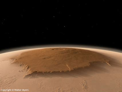 unmistakable mt olympus mons science facts  mars