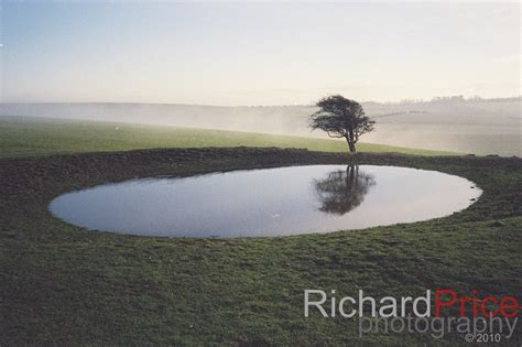 Countryfile Calendar Purchase Dewpond At Ditchling Beacon Sussex Uk By Richard Price