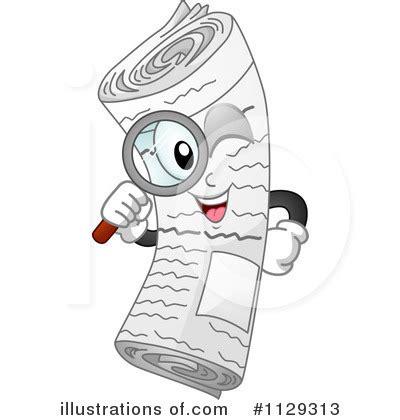 newspaper layout clipart newspaper clipart 1129313 illustration by bnp design studio