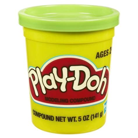 play doh single can green mighty utan malaysia