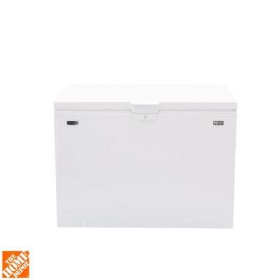 maytag 14 8 cu ft chest freezer in white mzc31t15dw