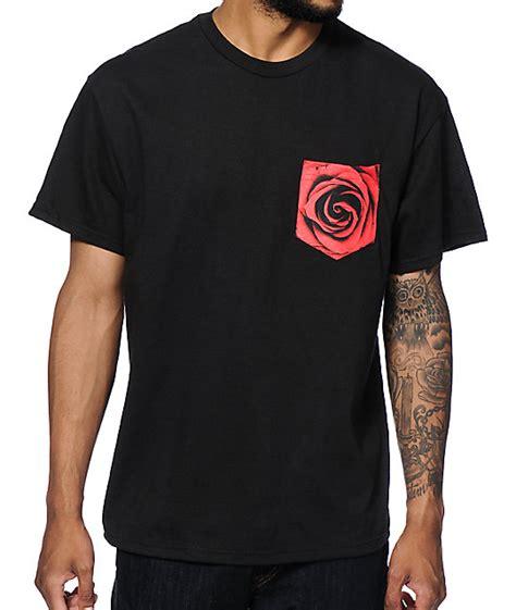design a shirt with pocket empyre rose pocket t shirt at zumiez pdp